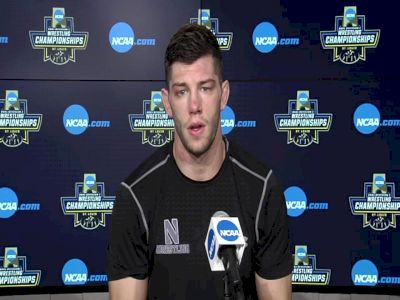 Ryan Deakin (Northwestern) after placing third at the 2021 NCAA Championships