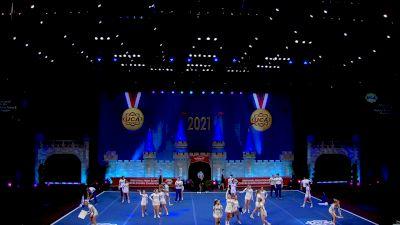 Saltillo High School [2021 Medium Varsity Coed Semis] 2021 UCA National High School Cheerleading Championship