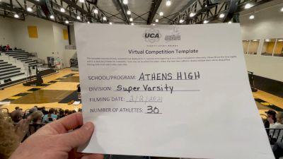 Athens High School [Virtual Super Varsity Finals] 2021 UCA National High School Cheerleading Championship