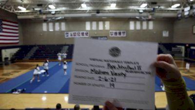 Pope John Paul II High School [Medium Varsity Virtual Finals] 2021 UCA National High School Cheerleading Championship