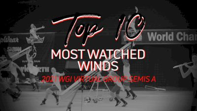 TOP 10: Most Watched Winds WGI Virtual Group Semis A