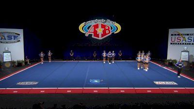 Twist & Shout - Tulsa - Diamonds [2021 L6 Senior XSmall Coed Semis] 2021 The Cheerleading Worlds