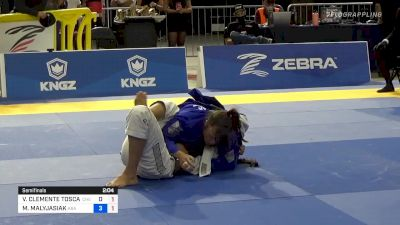 Maria Malyjasiak Locks Onto An Armbar And Finishes With Huge Submission