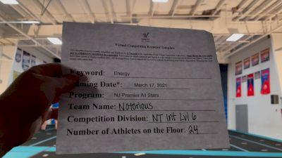 NJ Premier All Stars - Notorious [L6 International Open - NT] 2021 Beast of The East Virtual Championship