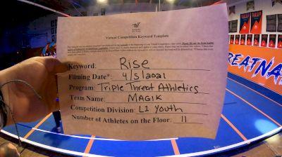 Triple Threat Athletics - MAGIK [L1 Youth - D2 - A] 2021 The Regional Summit Virtual Championships