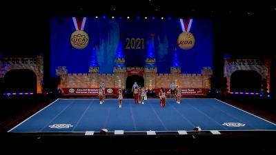 Coastal Alabama Community College [2021 Open Small Coed Semis] 2021 UCA & UDA College Cheerleading & Dance Team National Championship