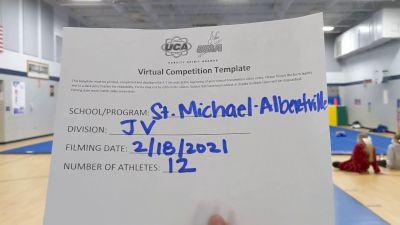 St Michael Albertville High School [Small Junior Varsity] 2021 UCA February Virtual Challenge