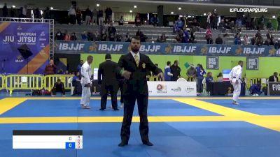 R. Alberto vs C. Jack 2019 IBJJF European Championship
