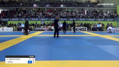 Andris Brunovskis vs Isaque Bahiense 2019 European IBJJF Championship