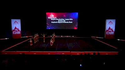Empire Cheerleading - Legacy Elite [2019 L2 Small Senior Wild Card] 2019 The D2 Summit