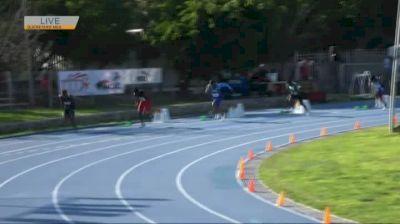 Men's U23 200m, Final