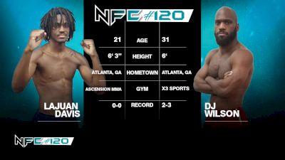 Lajuan Davis vs DJ Wilson