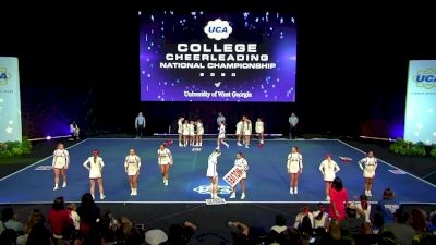 University of West Georgia [2020 All Girl Division I Finals] 2020 UCA & UDA College Nationals