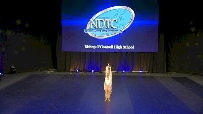 Bishop O'Connell High School [2020 Medium Jazz Prelims] 2020 UDA National Dance Team Championship