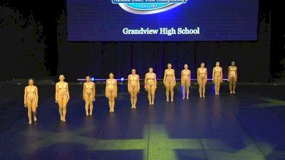 Grandview High School [2020 Small Jazz Prelims] 2020 UDA National Dance Team Championship