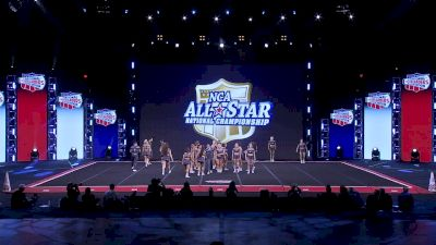 The California All Stars - Camarillo - Reckless [2020 L7 International Open Small Coed Day 2] 2020 NCA All-Star Nationals