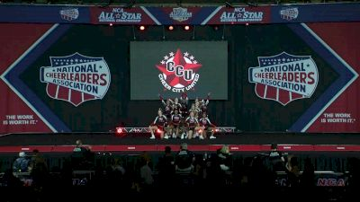 Cheer City United Athena [2020 L4 Small Junior Day 1] 2020 NCA All-Star Nationals