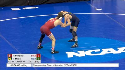133 r1, Stevan Micic, Michigan vs Masson Pengilly, Stanford