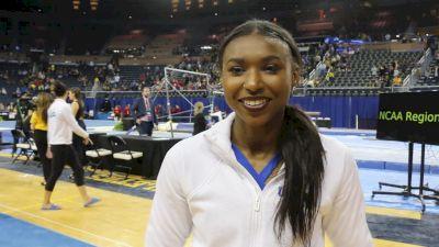 Interview: Nia Dennis, UCLA - Regional Final, 2019 NCAA Ann Arbor Regional Championship