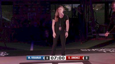 Roberto Jimenez vs Manuel Ribamar 3CG Kumite I