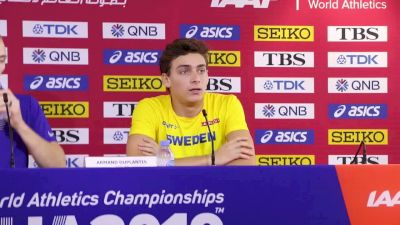 Mondo Duplantis Stayed In Competition With Big 3rd Attempts