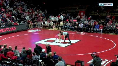 125 lbs: Liam Cronin, Indiana vs Nic Aguilar, Rutgers