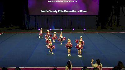 Smith County Elite Recreation - Shine [2020 L1 Performance Rec - Non-Affiliated (6Y)] 2020 The Quest