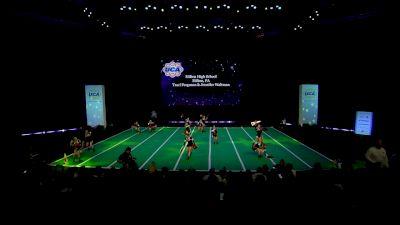 Milton High School [2020 Medium Non Tumbling Game Day Prelims] 2020 UCA National High School Cheerleading Championship
