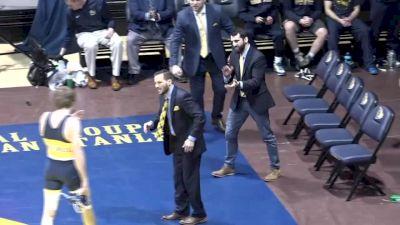 174 lbs, Neil Antrassian, Penn vs Michael O'Malley, Drexel