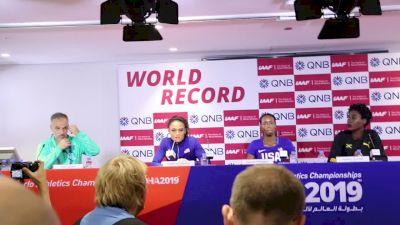 Women's 400m Hurdles Press Conference