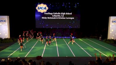 Teurlings Catholic High School [2020 Super Non Tumbling Game Day Finals] 2020 UCA National High School Cheerleading Championship