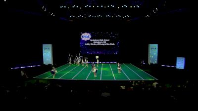 Springboro High School [2020 Varsity Non Building Game Day Finals] 2020 UCA National High School Cheerleading Championship