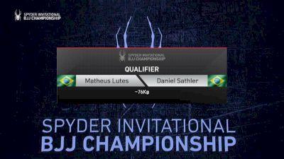Matheus Lutes vs Daniel Sathler 2019 Spyder BJJ Qualifier