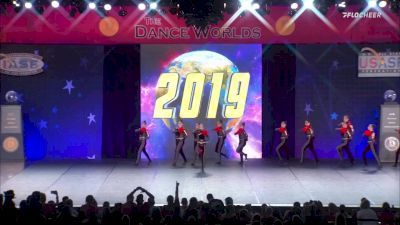 A Look Back At The Dance Worlds 2019 - Senior Large Pom Medalists