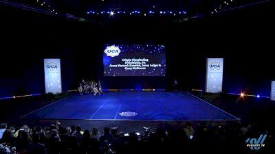 Crispin Cheerleading [2019 Senior Rec Semis] 2019 UCA National High School Cheerleading Championship