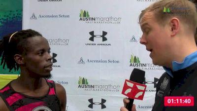 James Ngandu | Men's Half Marathon Winner