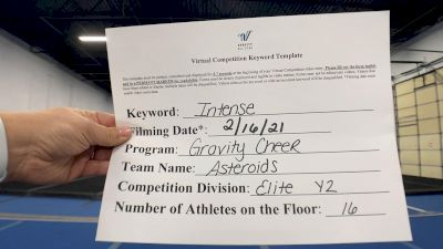 Gravity Cheer - Asteroids [L2 Youth - Small] 2021 Coastal at the Capitol Virtual National Championship