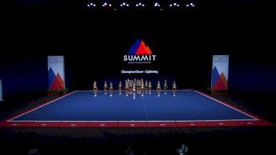 Champion Cheer - Lightning [2021 L4.2 Senior - Medium Finals] 2021 The Summit