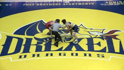 141 - Jarred Papcsy (NC State) vs Tyler Williams (Drexel)