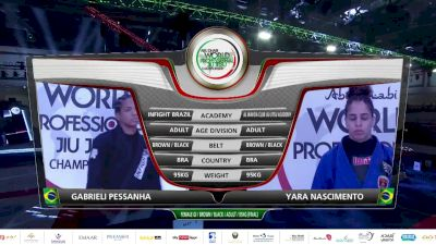 Gabi Pessanha vs Yara Soares 2020 Abu Dhabi World Pro