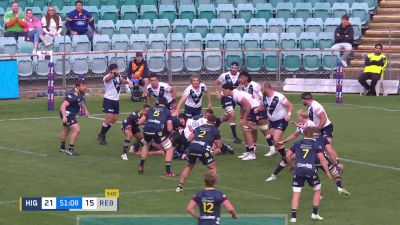 A Try By Melbourne's Josh Dickson