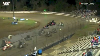 Highlights | USAC Midgets Friday at Bubba Raceway Park