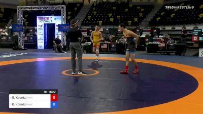 60 kg Quarterfinal - Dylan Koontz, vs Brady Koontz, TMWC:OHIO RTC (commentary)