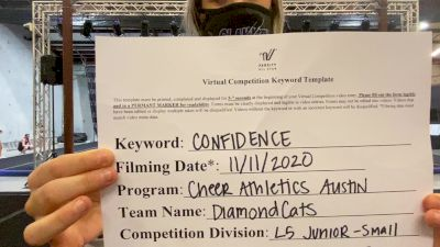 Cheer Athletics - Austin - DiamondCats [L5 Junior] Varsity All Star Virtual Competition Series: Event IV