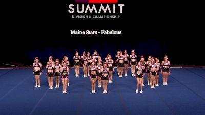 Maine Stars - Fabulous [2021 L4.2 Senior Coed - Medium Finals] 2021 The D2 Summit