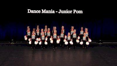 Dance Mania - Junior Pom [2021 Junior Pom Semis] 2021 The Dance Summit