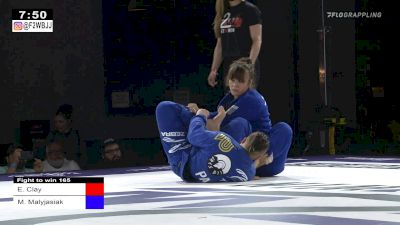 Elisabeth Clay Secures Nasty Belly-Down Toehold