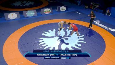 86 kg Semifinal  D. KURUGLIEV (RUS) v. D. TAYLOR III (USA)