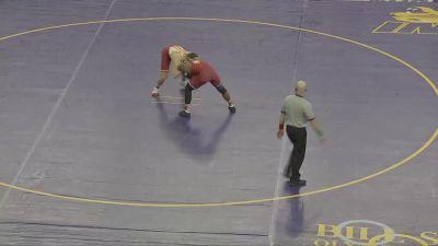 184 lbs - Tate Battani, Iowa State vs Darrien Roberts, Oklahoma
