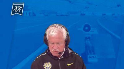 LSU Head Coach Dennis Shaver After Winning Team Title